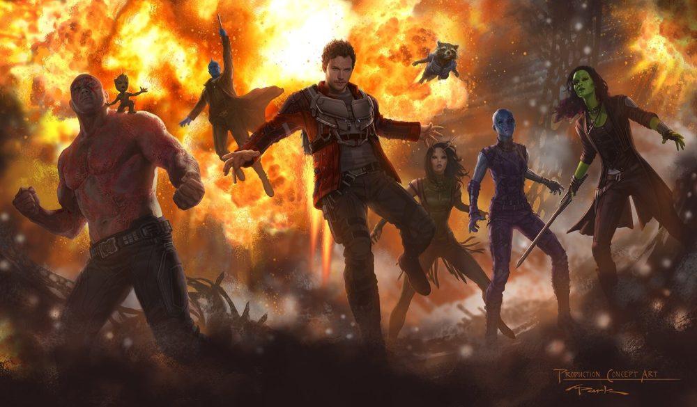 Guardiões da Galáxia 2 ganha primeiro cartaz oficial
