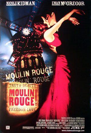 Poster: Moulin Rouge - Amor em Vermelho