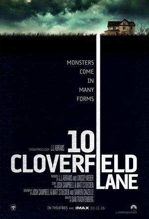 Poster: Rua Cloverfield, 10