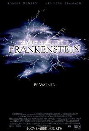 Poster: Frankenstein de Mary Shelley