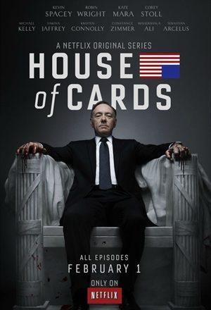 Poster: House of Cards - Primeira Temporada
