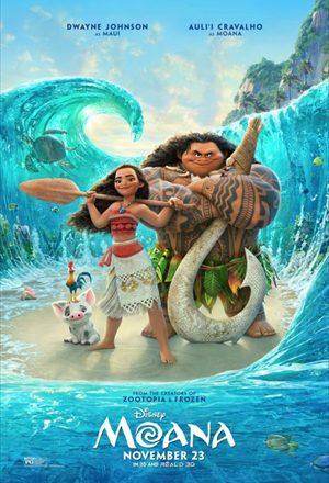 Poster: Moana: Um Mar de Aventuras