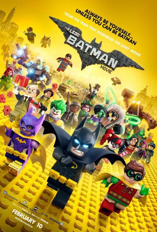 Poster: LEGO Batman: O Filme