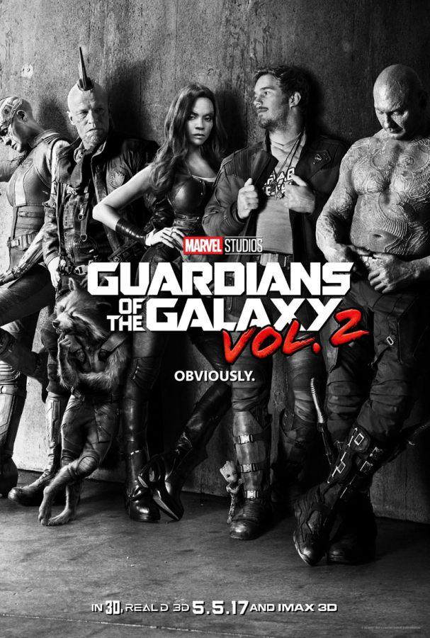 Poster: Guardiões da Galáxia Vol. 2