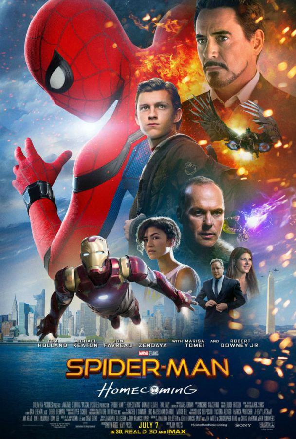 Poster: Homem-Aranha: De Volta ao Lar