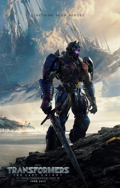 Poster: Transformers: O Último Cavaleiro