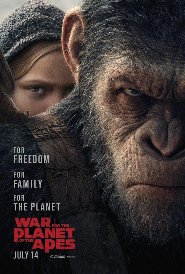 Poster: Planeta dos Macacos: A Guerra