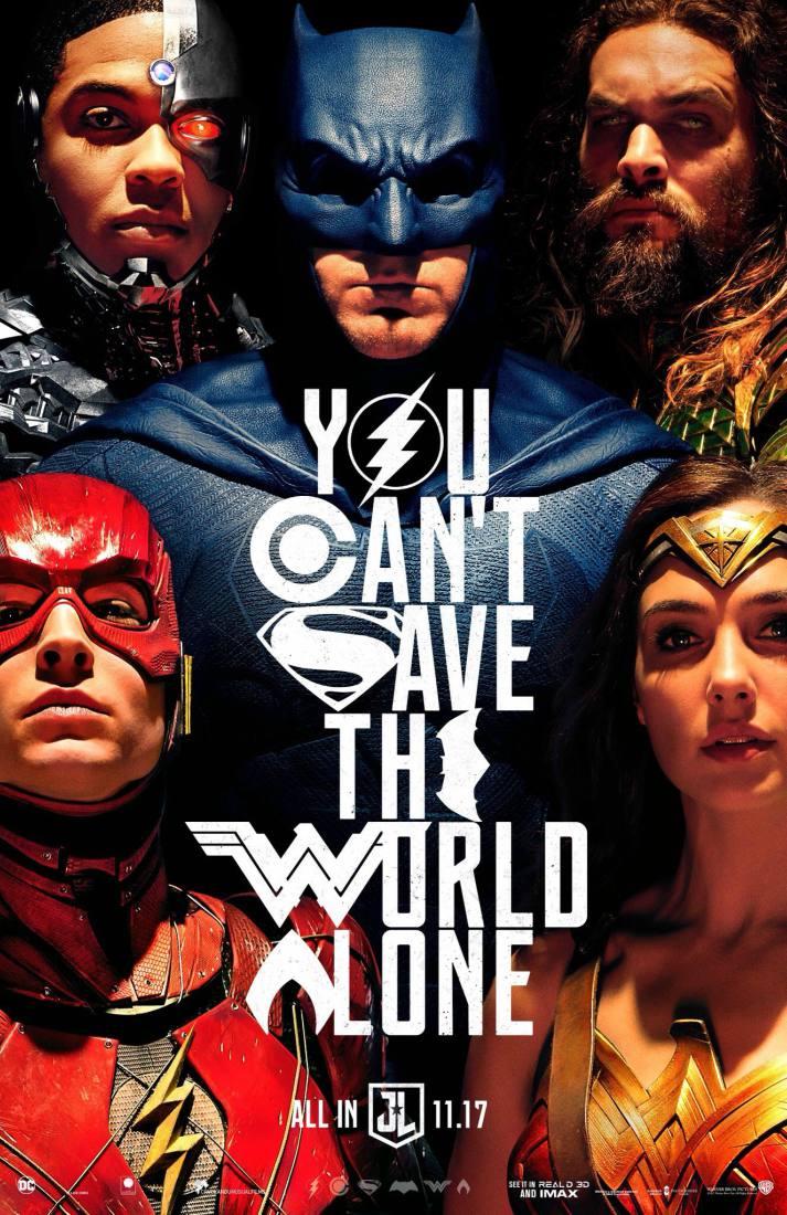 Poster: Liga da Justiça