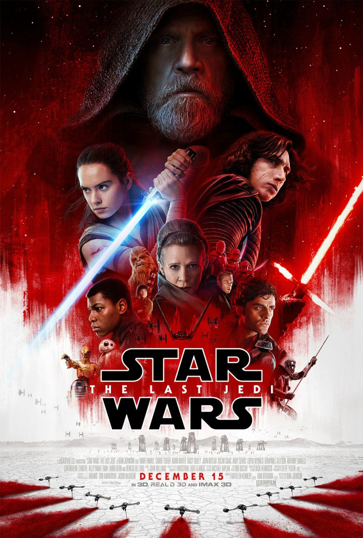 Poster: Star Wars: Episódio VIII - Os Últimos Jedi