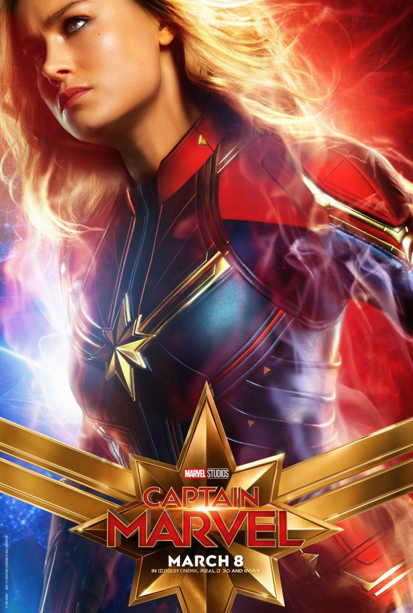 Poster: Capitã Marvel