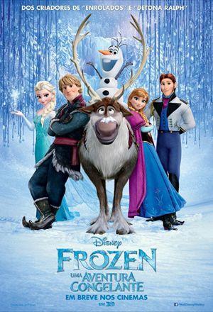 Poster: Frozen - Uma Aventura Congelante
