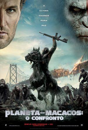 Poster: Planeta dos Macacos: O Confronto