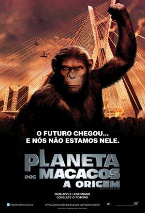 Poster: Planeta dos Macacos: A Origem