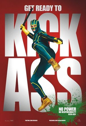 Poster: Kick-Ass - Quebrando Tudo