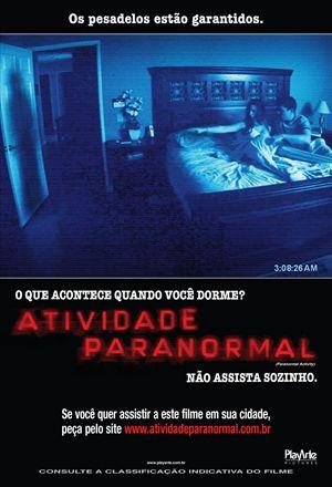 Poster: Atividade Paranormal