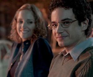 Thiago Mendonça e Laila Zaid